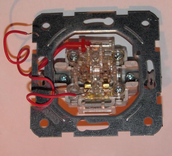 Схема подключения подсветки двухклавишного выключателя?